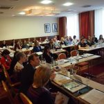 Scene of the EFCNI Parent Organisations Meeting