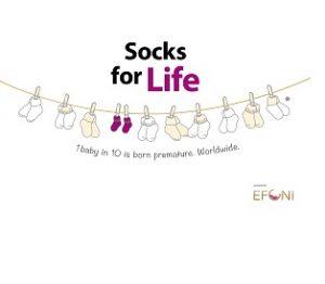 Logo Socks for Life