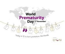 Logo World Prematurity Day with socksline
