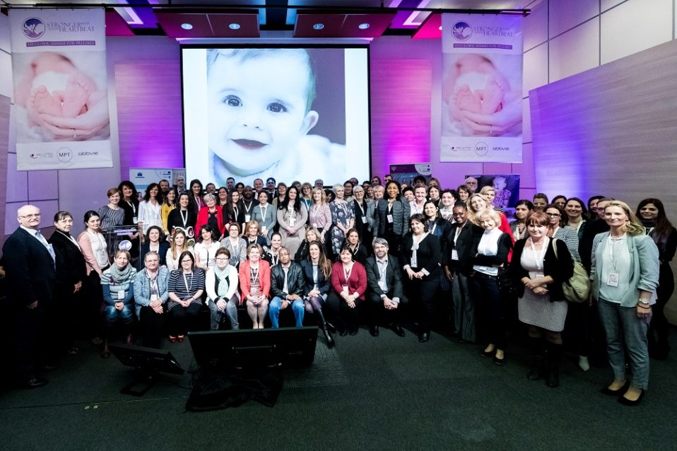 Group picture of the Global Summit for Preemies 2018