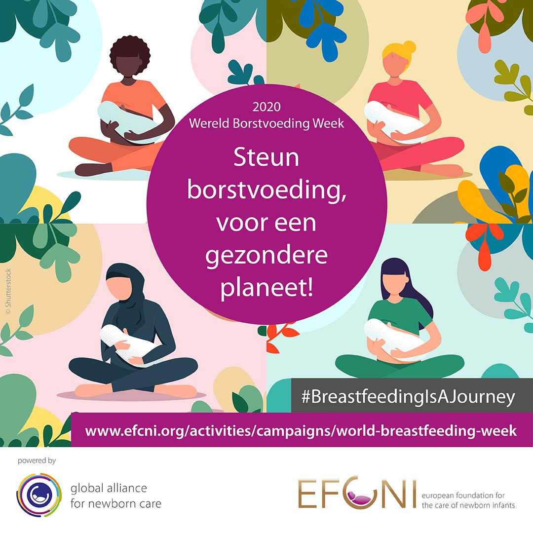 World Breastfeeding Week 2020 Efcni